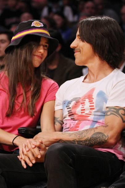 Anthony Kiedis & Helena Vestergaard