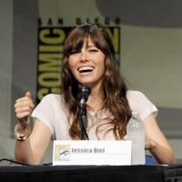 Jessica Biel at Comic-Con 2012
