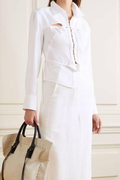 Best Women's White Shirts - Jacquemus