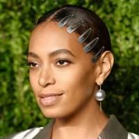 Solange's hair slides