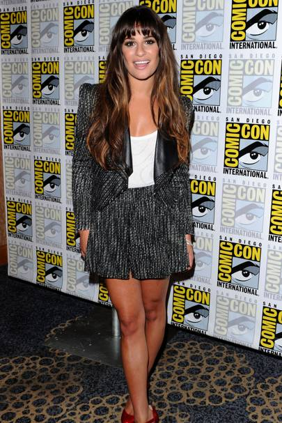 Lea Michele at Comic-Con 2012