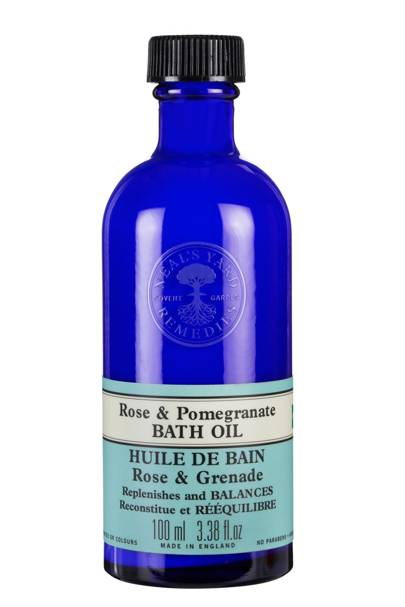 Neal's Yard Rose & Pomegranate Bath Oil, £14.75