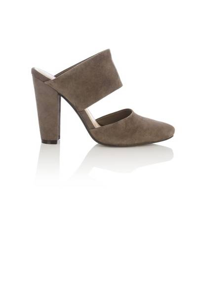 Zara Grey Snakeskin Peeptoe High Heels Shoes