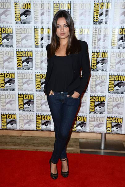 Mila Kunis at Comic-Con 2012