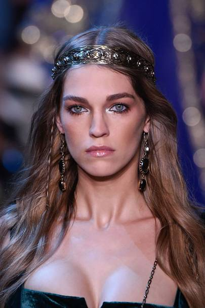 The Grecian goddesses at Elie Saab