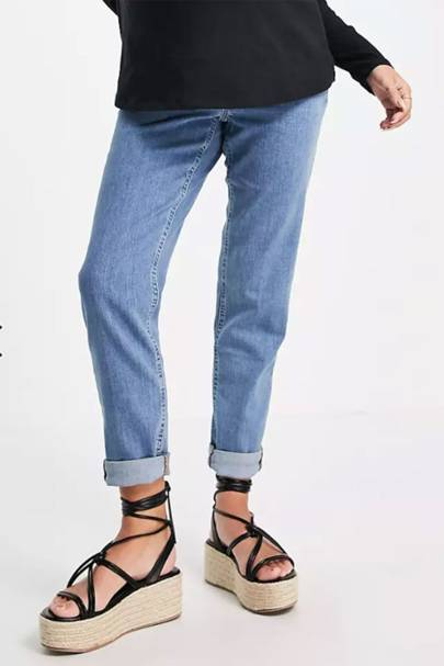 Best High-Waisted Maternity Jeans: ASOS
