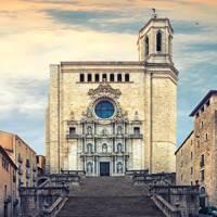 Spain: Catedral de Santa Maria Gerona, Catalonia