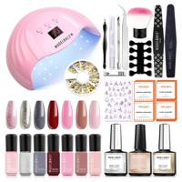 Best at-home gel nail kit for polish pigmentation