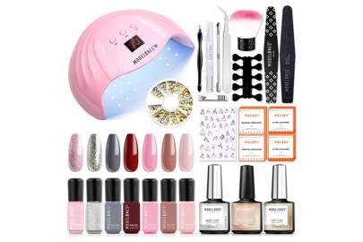 Best at-home gel nail kit for polish pigmentation