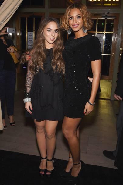 Beyonce & Chloe Green