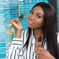 She starred in a Bobbi Brown campaign with Olivia Palermo