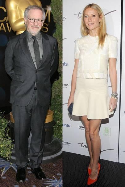 Gwyneth Paltrow & Steven Spielberg