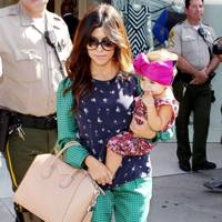 Kourtney Kardashian and Baby Penelope