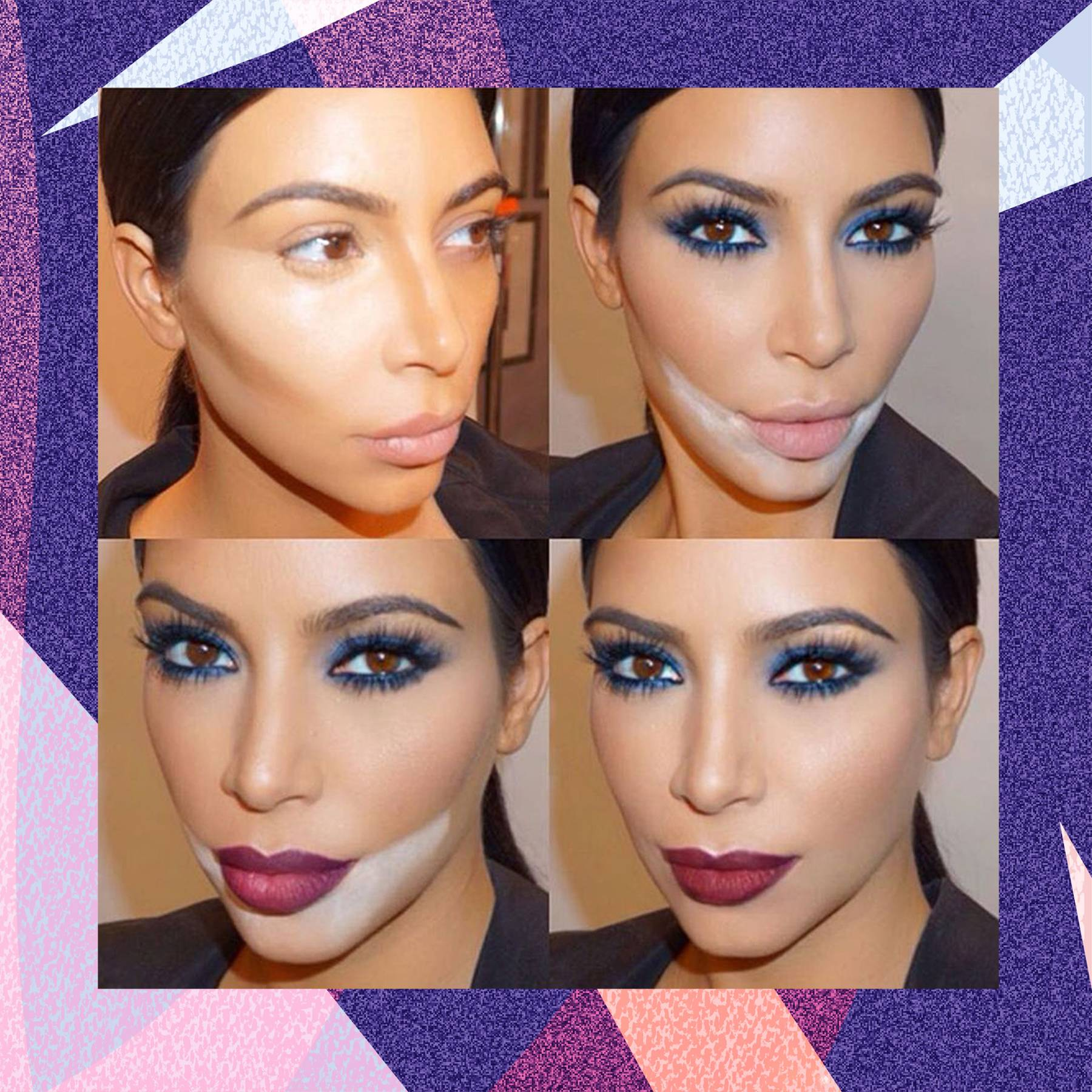 Watch Kim Kardashians Makeup Routine Is Everything You Hoped for and More video