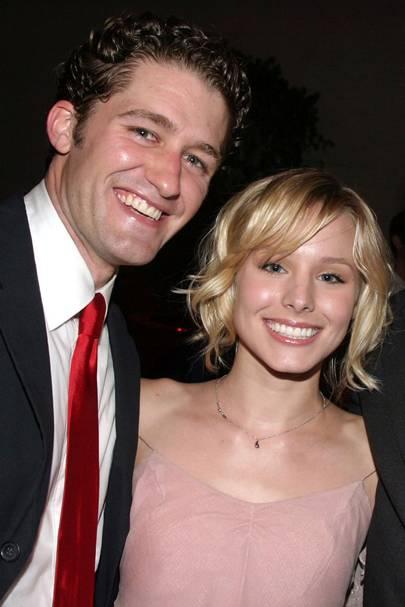 Kristen Bell and Matthew Morrison