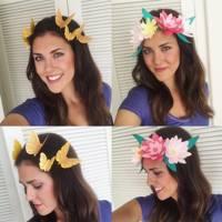 Snapchat Floral Filter