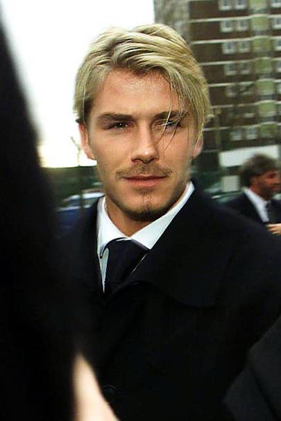 David Beckham Hair Hairstyles Then V Now Glamour UK - Beckham hairstyle ferguson