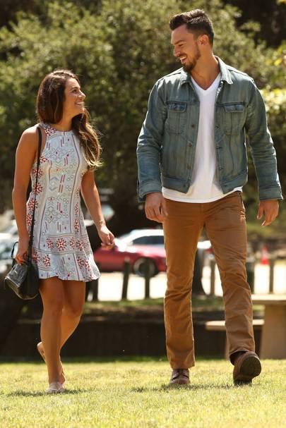 February: Lea Michele and Matthew Paetz