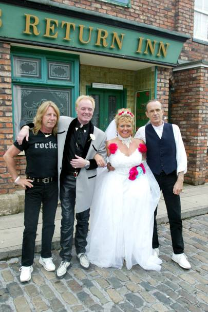 Status Quo in Coronation Street