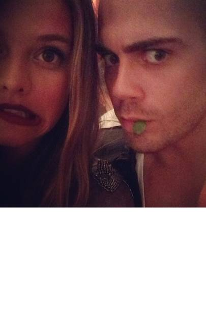 October: Max George & Nina Agdal