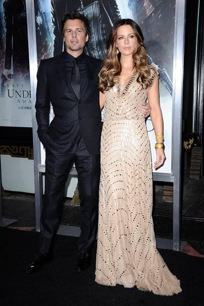 November: Kate Beckinsale & Len Wiseman