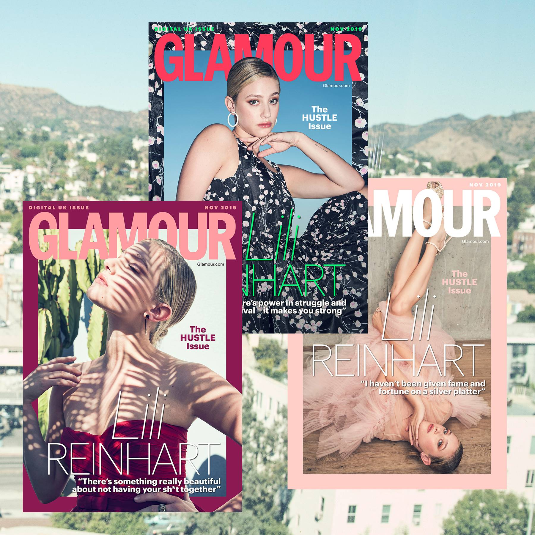 GLAMOUR's November coverstar Lili Reinhart: 'Life is not a FaceTune app – stretch marks, cellulite, real skin is beautiful' - 커버