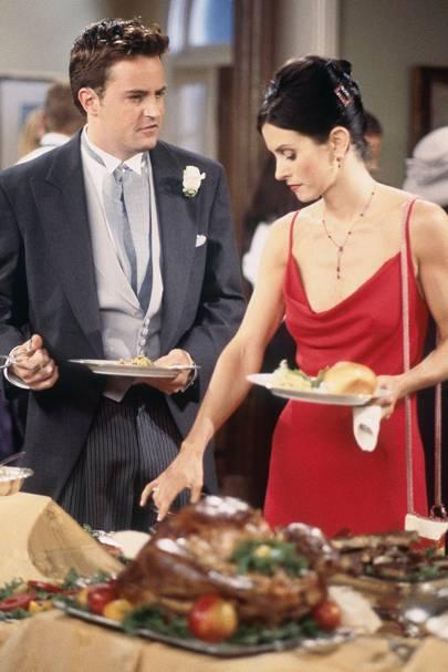 Monica's wedding style