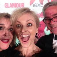 2014: Fearne's Dom & Steph Selfie