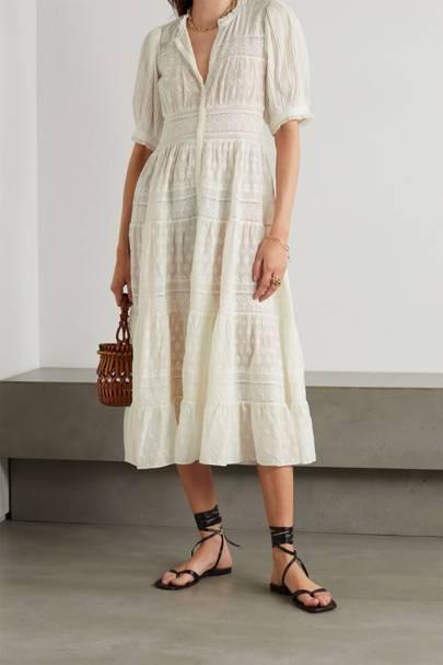 Drouser trend: midi dress