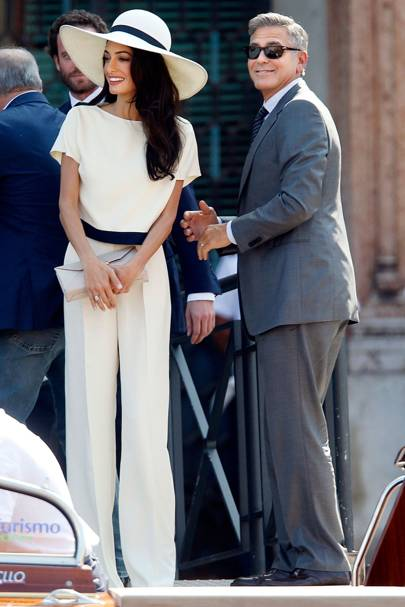 a95ba6f18ba Post their star-studded wedding in Venice in September