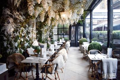 Winter at Dalloway Terrace, London