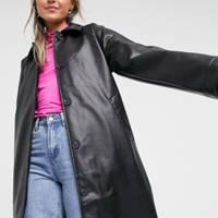 Leather coats: the high-street choice