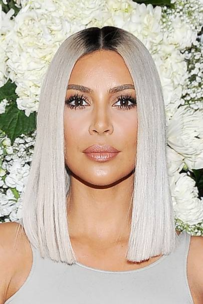 Kim Kardashian Hair Changing Make Up Hairstyles Look Book Glamour Uk