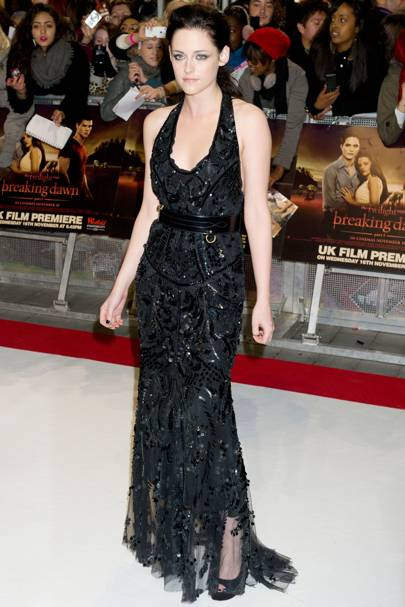 Kristen Stewart at the UK premiere of Breaking Dawn