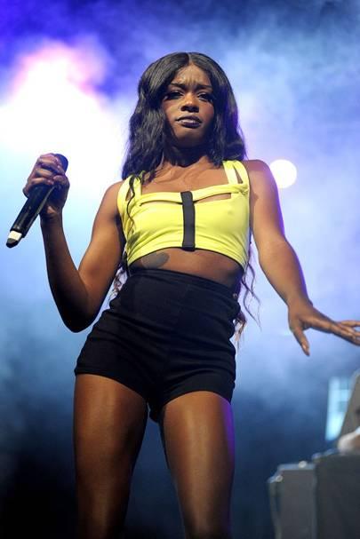 Azealia Banks performs at Reading Festival 2012