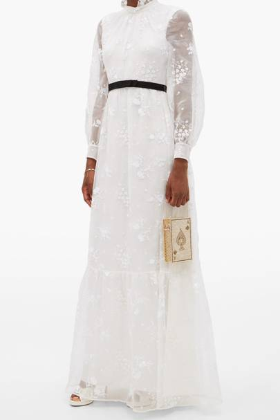 Long sleeve wedding dresses: Erdem Clementine