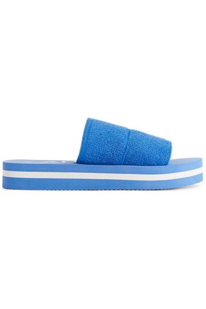 Summer 2021 Towelling Trend - Summer Sandals