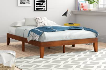 Cheap low platform bed frame