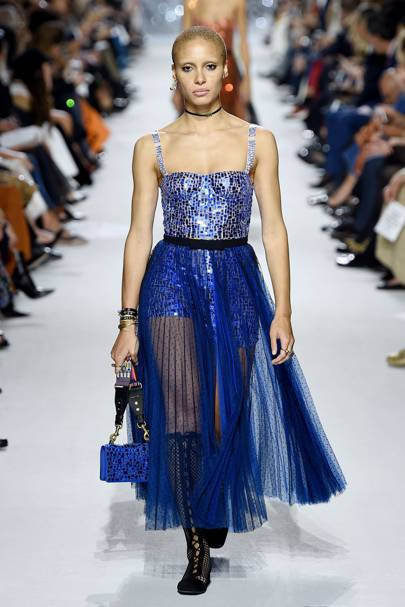 Dior mirrored dresses spring summer 2018 show glamour uk for Dior couture dress price