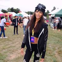 Jourdan Dunn at V Festival