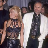 Donatella & Gianni Versace, 1996