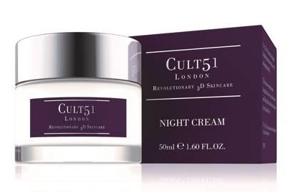 Cult51 Night Cream, £49.95