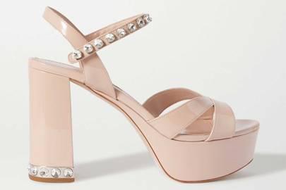 Best heels: Miu Miu heels