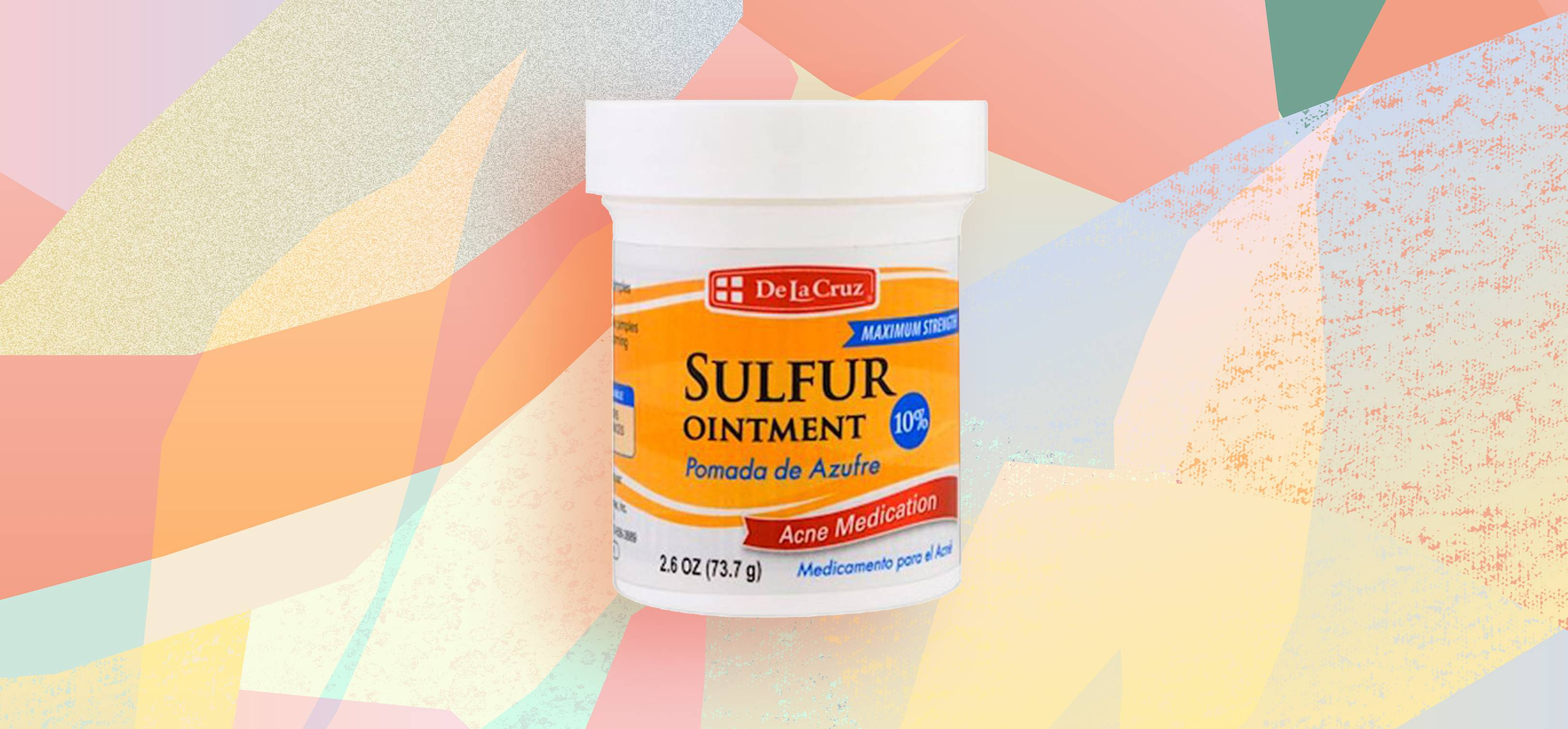 Sulfur Ointment: Is This The Cure For Cystic Acne? | Glamour UK