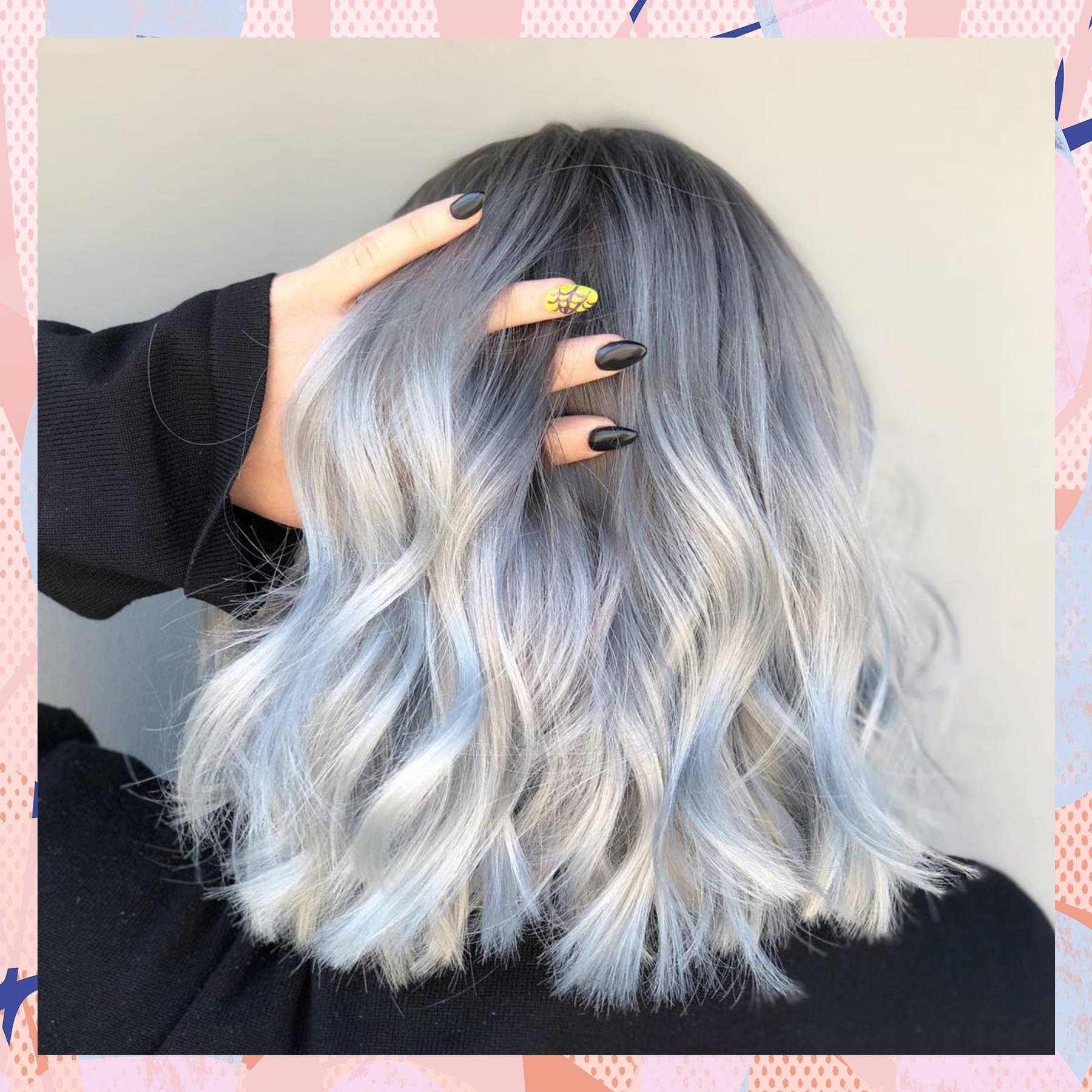 How To Get Grey Hair: A Guide To 2018's Silver Hair Colour Trend | Glamour UK