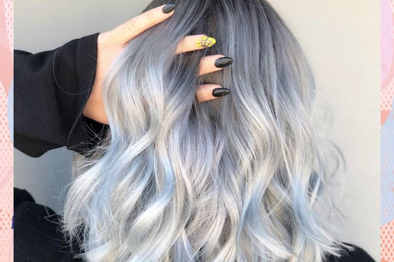 How To Get Grey Hair: A Guide To 2019's Silver Hair Colour ...