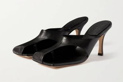 UGLY SHOES: CUT-OUT MULES