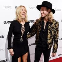 February: Ellie Goulding and Dougie Poynter
