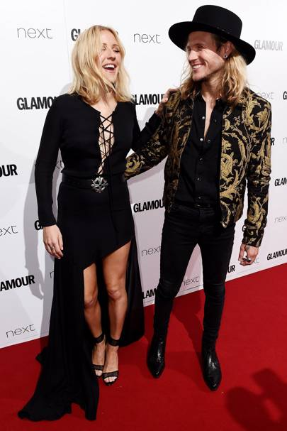 Ellie Goulding and Dougie Poynter