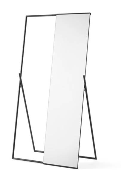 Best storage solutions: the long mirror